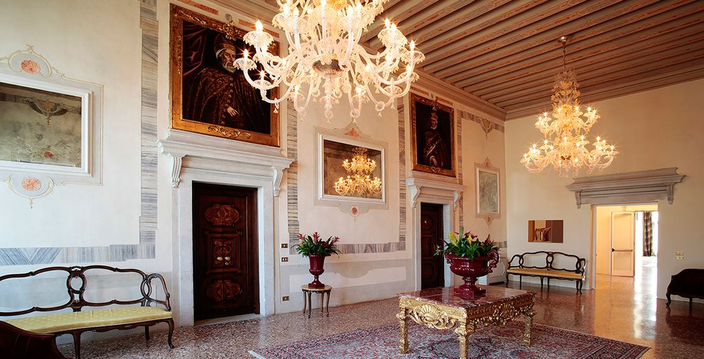 Every room is a work of art...