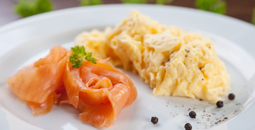 Our offer includes daily breakfast