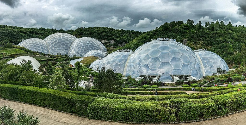 Enjoy tickets to the amazing Eden Project (12 miles)