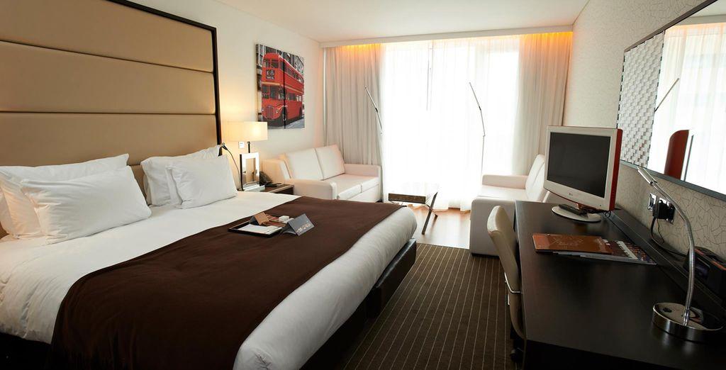 Fantastic, modernly designed rooms
