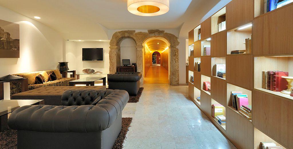 At the Hotel Vincci Baixa 4*
