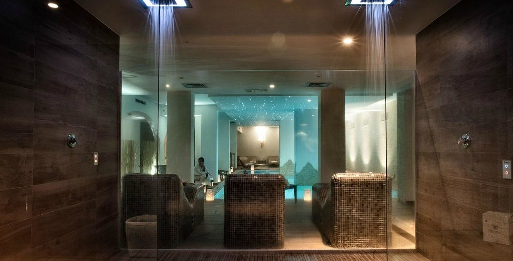 Or retreat to the serene spa