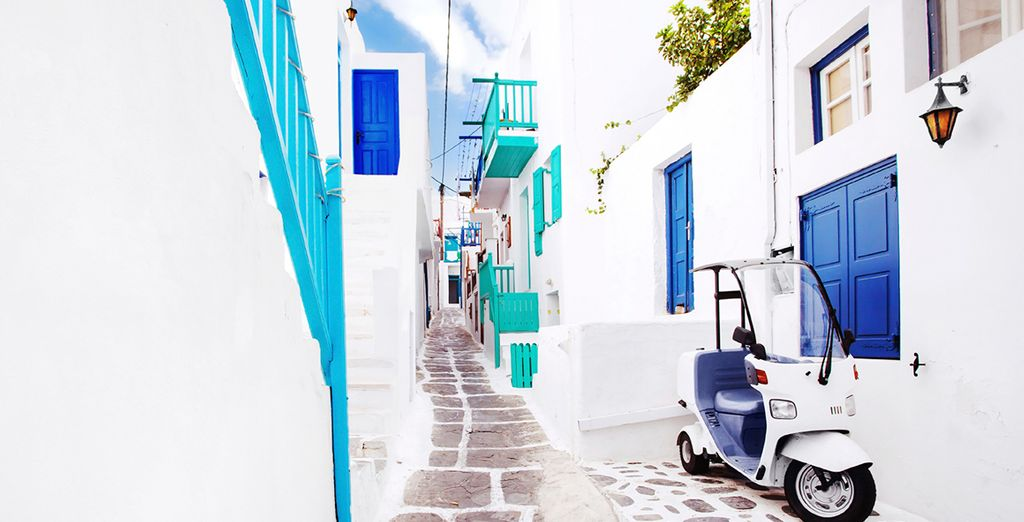 And charming streets to lose yourself in