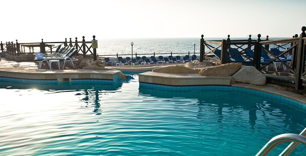 Spend your days at the spa or by the pool