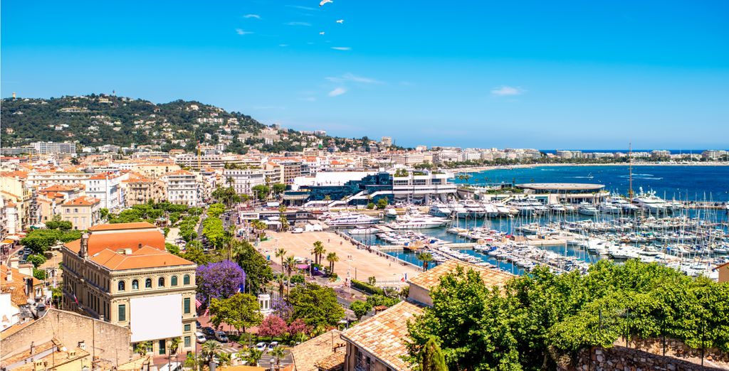 In beautiful Cannes