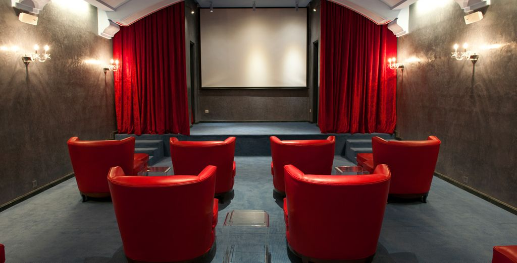 Watch a film in the hotel's very own cinema