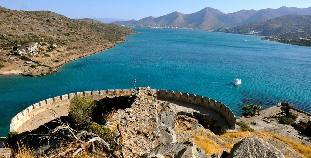 Such as Spinalonga Castle