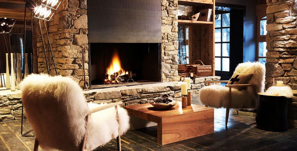 Fall for the chic and cozy atmosphere of Hotel Le M De Megève 5*