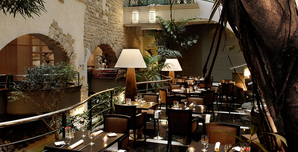 The Atrium Restaurant is great for enjoying local delicacies as well international fare...