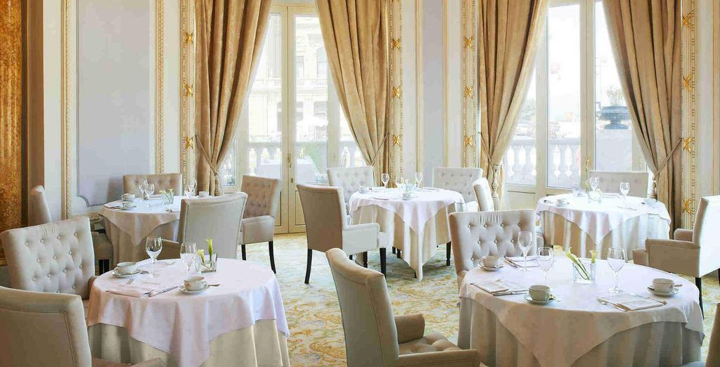 Hotel Maria Cristina is at the forefront in providing exquisite dining venues
