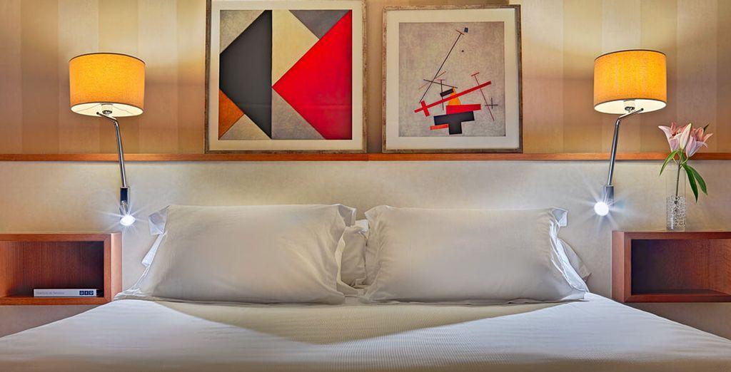 Enjoy this spacious, comfortable and modern retreat