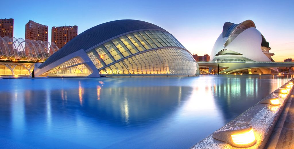 Don't miss the iconic City of Arts and Sciences