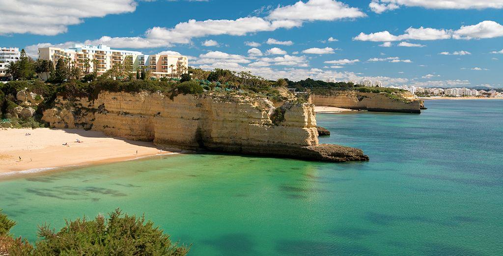And explore the stunning coastline of the Algarve