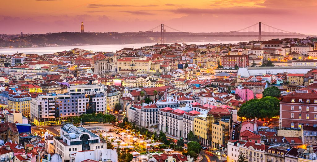 In the cosmopolitan city of  Lisbon
