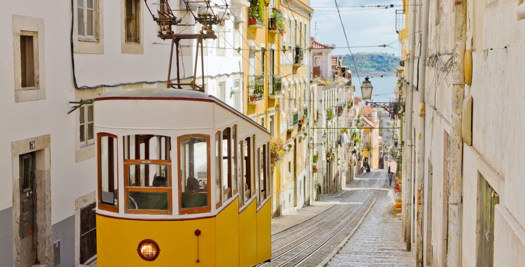 Step aboard the city's famous trams