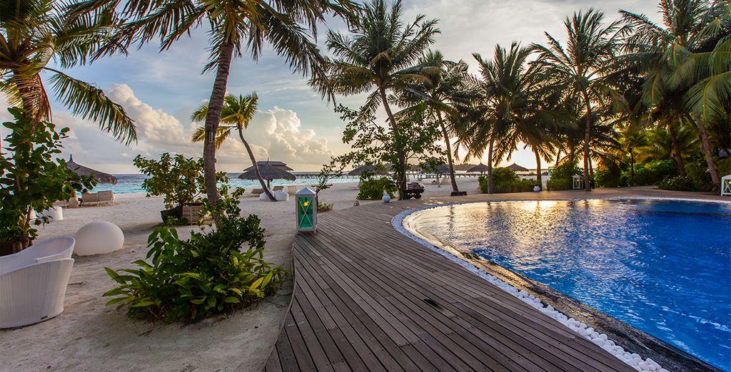 Kihaa Maldives 5* - Prestigious hotel in the Maldives