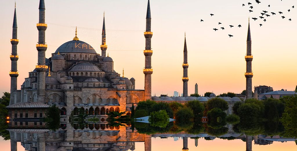 Stay in luxury hotels in Istanbul