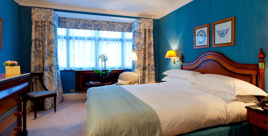 Our members can enjoy a Classic King Room