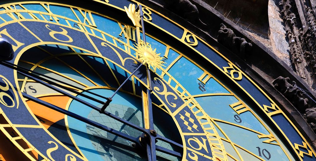 And famous sights such as the astronomical clock