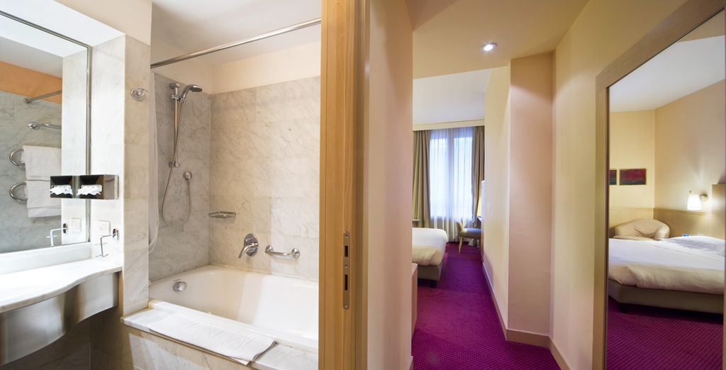 Complete with an ensuite bathroom for your comfort