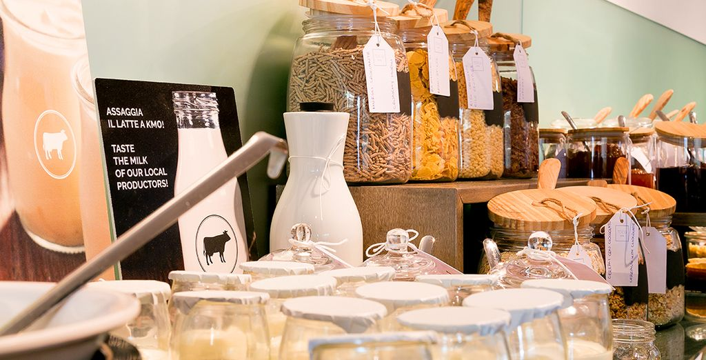 A fresh selection of authentic and typical Italian products