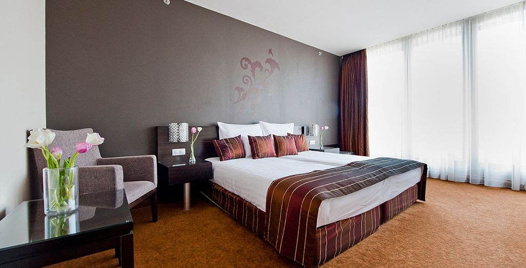 Welcome to Hotel Regnum Residence, where you'll be staying in a spacious suite
