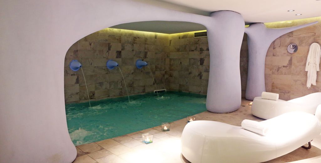The spa is the best place to relax