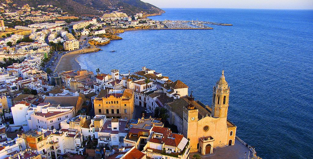 Located in the coastal town of Sitges