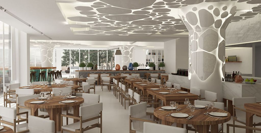 Indulge in the dining area