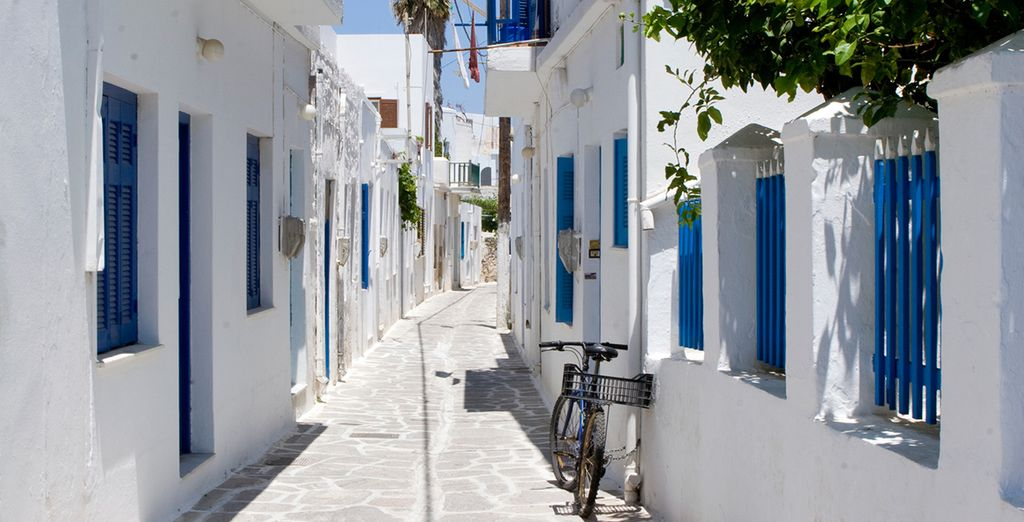 Famed for its traditional Greek architecture