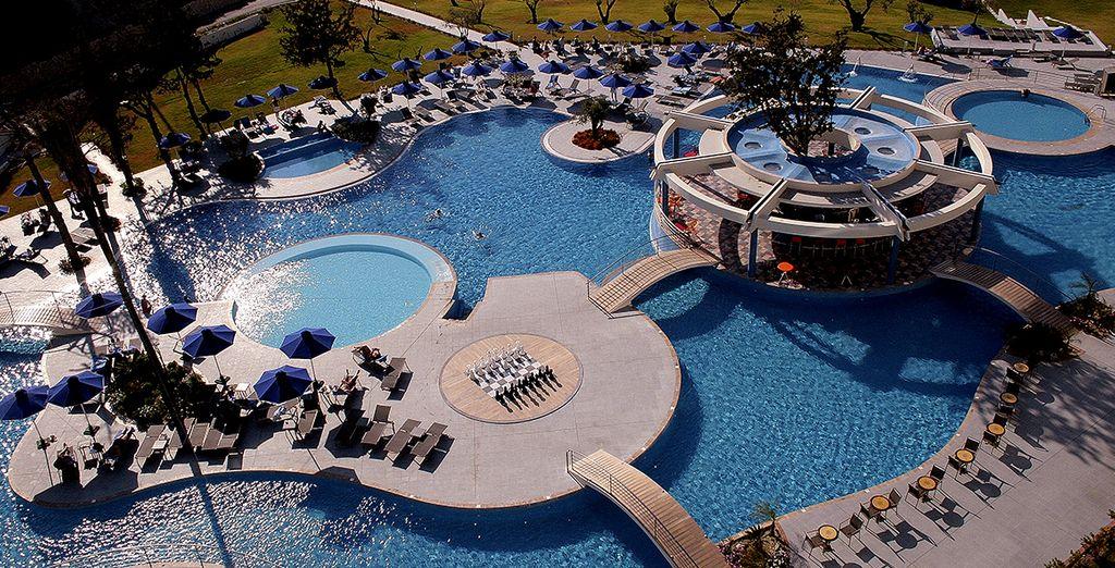 boasting fantastic facilities, and a luxurious spa