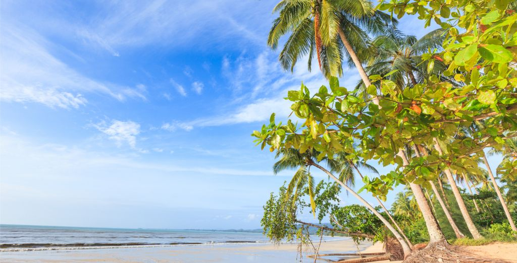You may choose to extend your trip to Bangsak Beach in Khao Lak