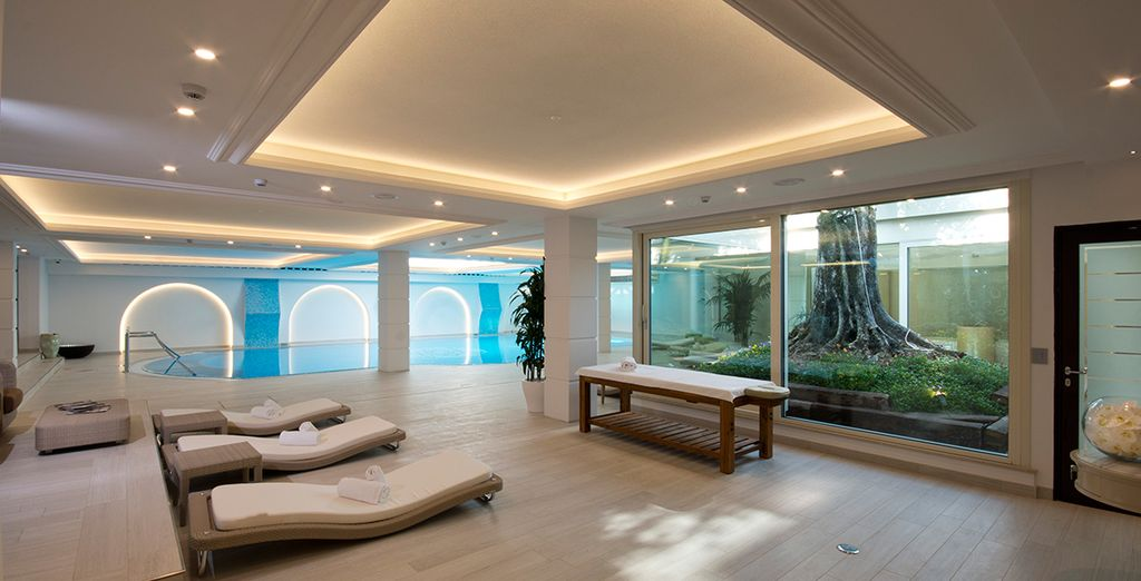 With free daily access to the spa
