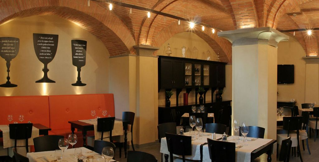 Sample some local wine in the ancient cellars of this former palace,