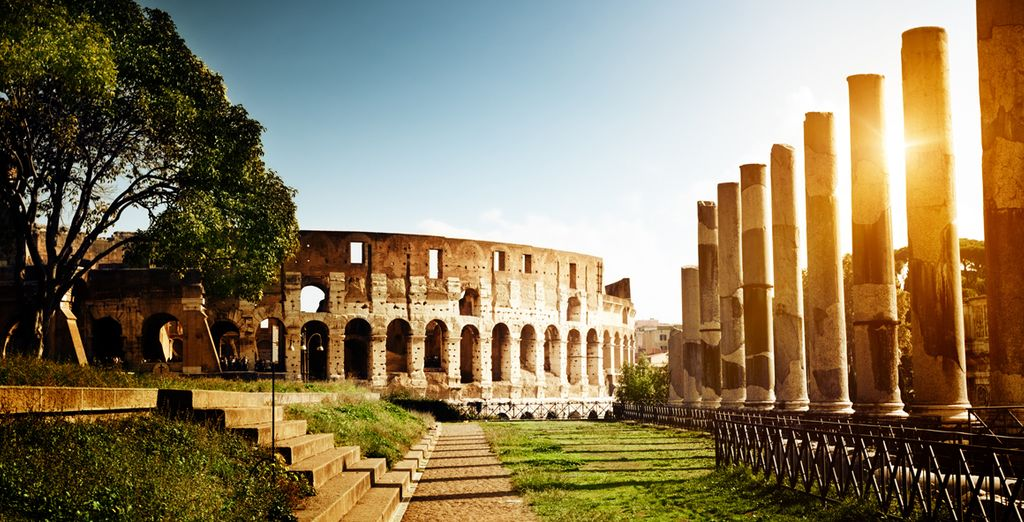 Head out and explore Rome!