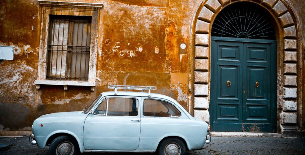And Italian charm