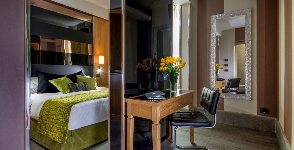 Each room individually designed