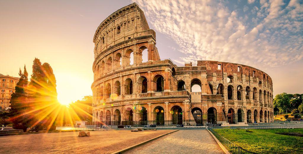 In historic Rome
