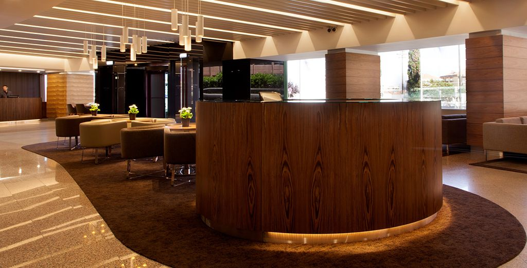 You will be greeted by sleek interiors and warm hospitality