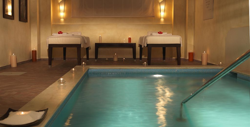Head to the Clarins Spa