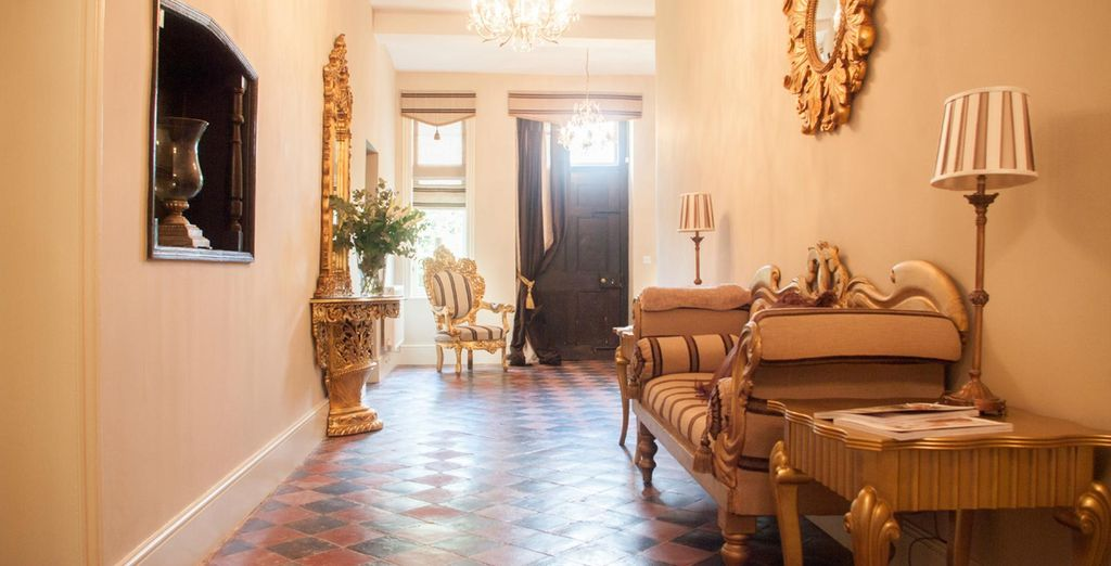 Classic, elegant interiors welcome you at The Courthouse Country House