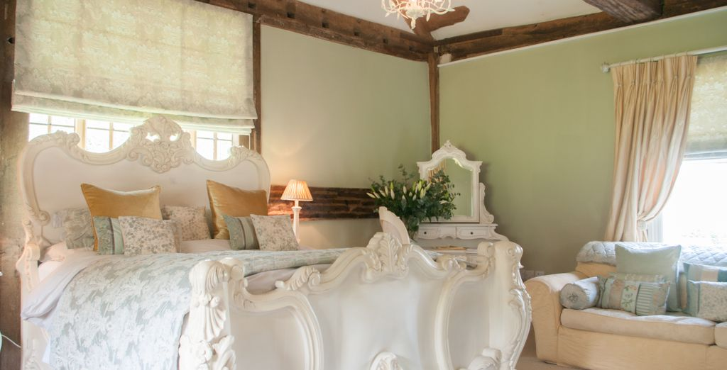 A charming, classic country house