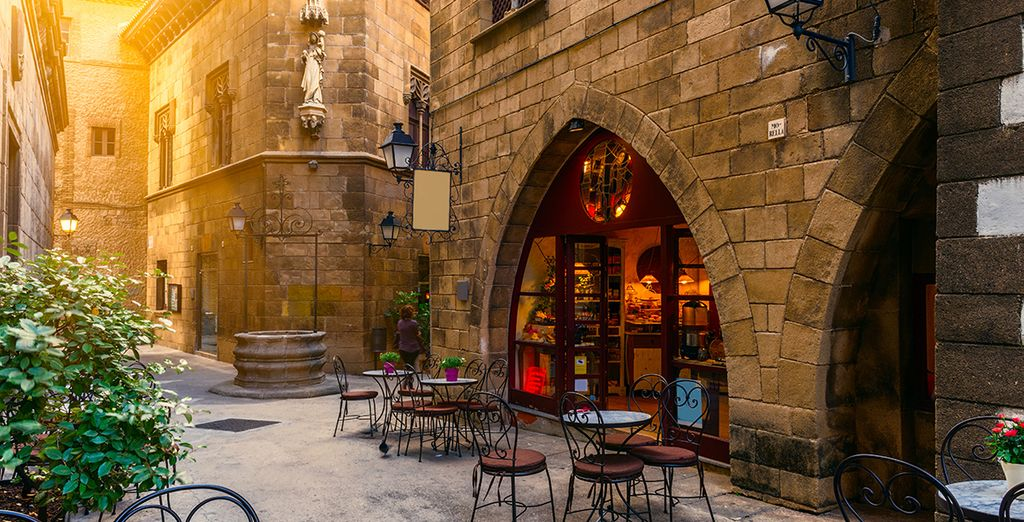 Barcelona travel guide - Restaurant in Barcelona