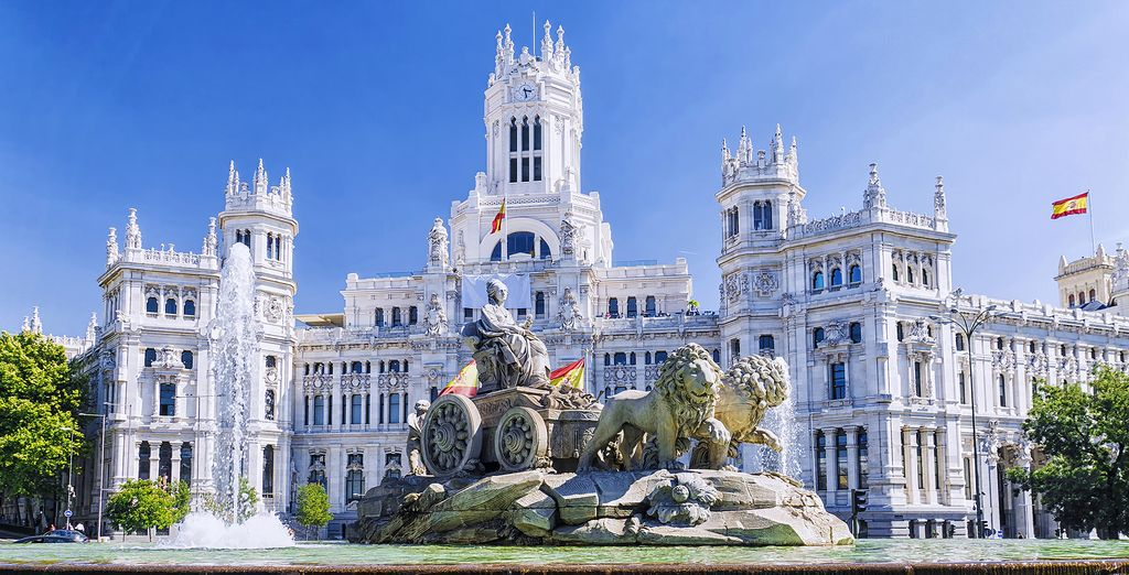 Book your hotel in Madrid, Spain's capital online