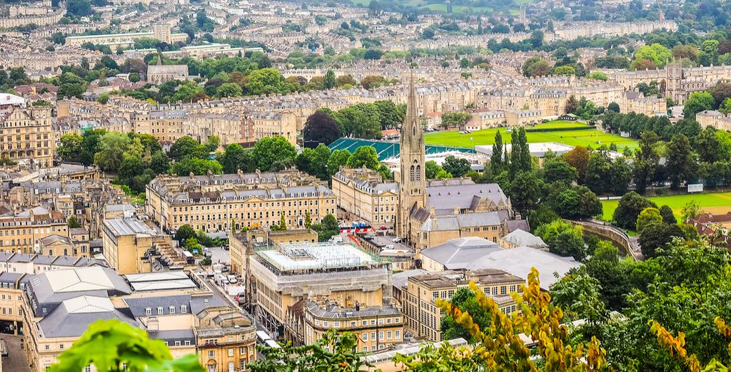 Discover the town of Bath in England