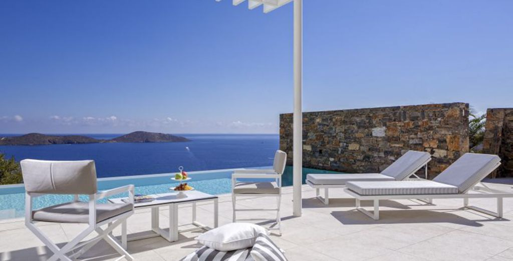 Complete with its own expansive pool for moments of secluded relaxation