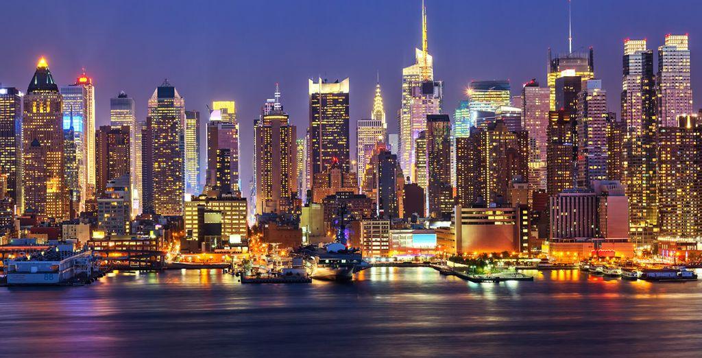 City Break : New York by night