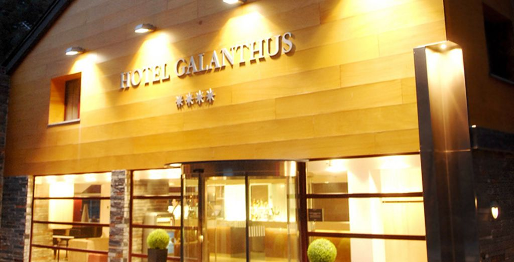 Stay at the Hotel Galanthus & Spa, an adults-only hotel