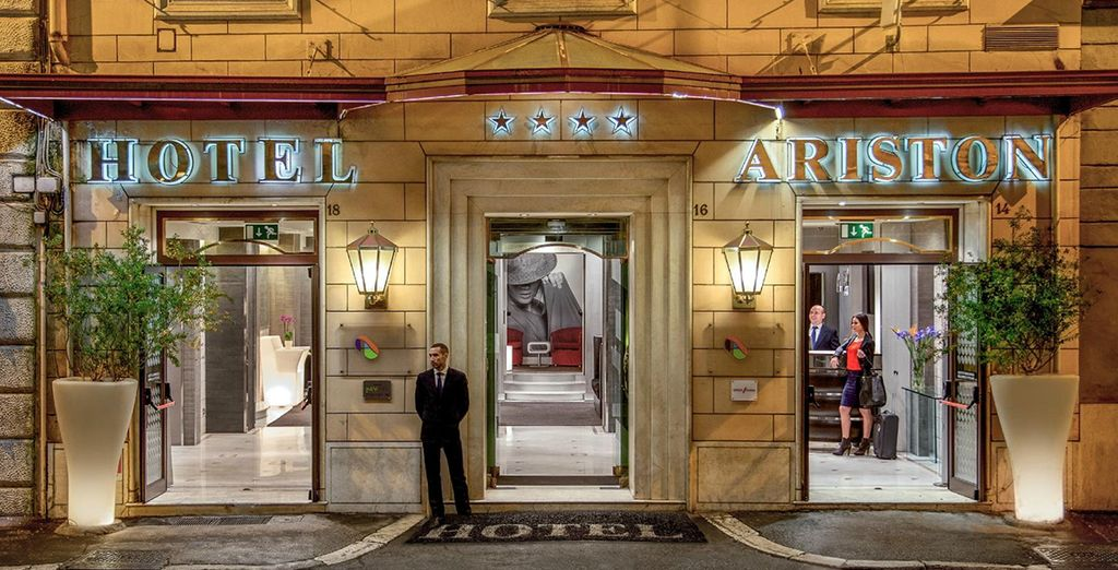 Reviews - Hotel Ariston 4* - Rome   Voyage Privé