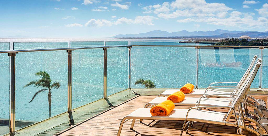 Arrecife Gran Hotel & Spa 5* - hotel with a view in Lanzarote